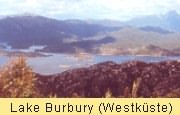 Lake Burbury  im Westen bei Queenstown!